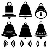 Bell Icons Royalty Free Stock Photo