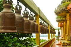 Bell im Tempel stockfotografie