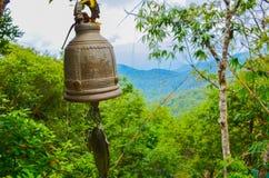 Bell im Wald Stockfotos