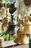 Bell in Khachoedpalri See in Pelling, Sikkim Stockbilder