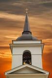 bell kościoła chrześcijańskiego wieży fotografia stock