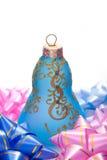 Bell kształtował boże narodzenie dekorację zdjęcie royalty free