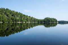 Bell Lake in Killarney Provincial Park. Royalty Free Stock Images