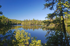 Bell Lake in morning light Royalty Free Stock Photography