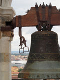 Bell in the Leaning Tower of Pisa Italy Royalty Free Stock Photos