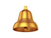 Bell lokalisiert auf weißem Hintergrund, Wiedergabe 3D Lizenzfreie Stockfotos