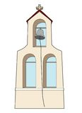 The bell of the monastery. Vector illustration of the bell of a monastery Vector Illustration