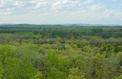 Bell Mound Scenic Overlook Stock Image