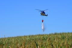Bell 412 na ação Imagens de Stock