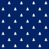 Bell na Błękitnym tle, Bezszwowy wzór Obrazy Royalty Free