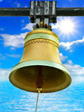 Bell in nature Royalty Free Stock Photography