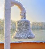 Bell no navio de navigação Imagens de Stock