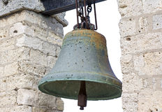 Bell from Notre Dame de Paris Royalty Free Stock Photography