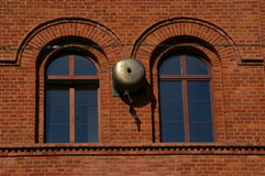 Bell old factory fire Royalty Free Stock Photography