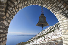 Bell of Panagia Orthodox Church on Mount Athos Royalty Free Stock Image