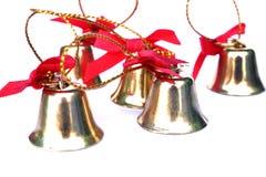Bell para el día de la Navidad Foto de archivo libre de regalías