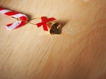 Bell para la decoración del día de fiesta Imágenes de archivo libres de regalías