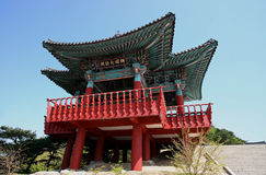 Bell pavilion in south korea Royalty Free Stock Images