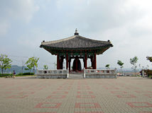 The Bell of Peace - South Korea. The Bell of Peace - Imjingak, South Korea royalty free stock photo