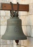 Bell pela entrada à igreja ortodoxa Fotografia de Stock
