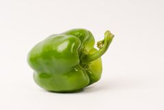 Bell pepper. On white background stock images