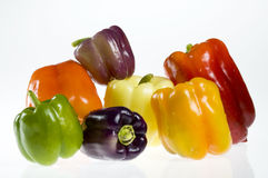Bell Pepper Assortment Stock Photos