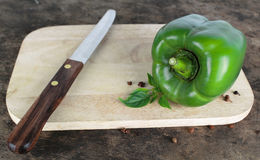 Bell pepper or capsicum, sweet pepper. Fresh bell pepper or capsicum, sweet pepper royalty free stock photo
