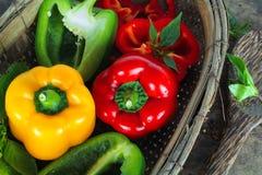 Bell pepper or capsicum, sweet pepper. Fresh bell pepper or capsicum, sweet pepper royalty free stock image