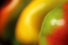 Bell pepper. Close up of colored bell pepper Stock Image
