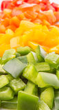 Bell Pepper Close Up View I Stock Photo