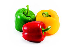 Bell pepper. Is colorful, beautiful to eat Stock Photo