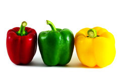 Bell pepper have a colorful. Bell pepper is colorful, beautiful to eat Royalty Free Stock Photo