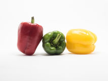 Bell pepper is ingredient in a healthy diet Royalty Free Stock Image