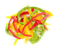 Bell pepper isolated on white background Stock Image