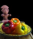 Bell Pepper Mayan Still Life stock photography