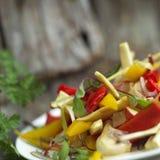 Bell Pepper Salad Stock Photo