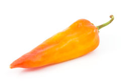 Bell pepper or sweet pepper. On white back ground Royalty Free Stock Photos