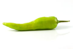 Bell pepper or sweet pepper. On white back ground Stock Image