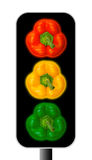 Bell Pepper Traffic Light Royalty Free Stock Photos