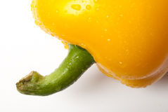 Bell Pepper on a white background Stock Photography
