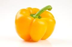 bell peppera idealny żółty Obrazy Royalty Free