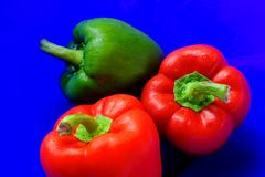 Free Bell Peppers Stock Image - 1291291