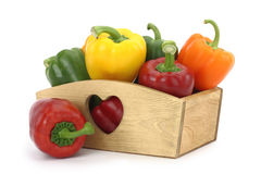 Free Bell Peppers Royalty Free Stock Image - 23911536