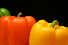 Bell Peppers. Close-up of Bell Peppers Royalty Free Stock Photo