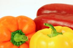 Bell Peppers Background Stock Images