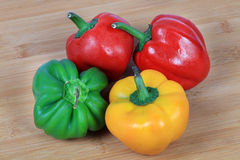 Bell-peppers Stock Photo