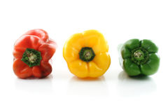 Bell peppers colors Royalty Free Stock Image