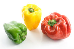Bell peppers colors Stock Photo