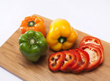 Bell peppers Royalty Free Stock Photography