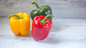 Bell peppers variety Royalty Free Stock Photography